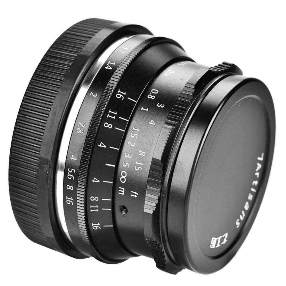 7Artisans 35mm F1.2 Prime Lens Manual Fixed Focus for Canon Cameras for Canon