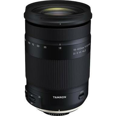 TAMRON 18-400 MM F3 5-6 3 DI II VC HLD FOR NIKON