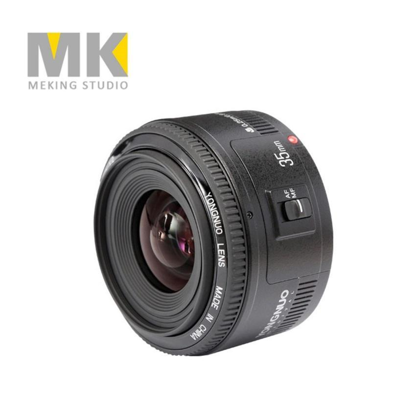 AllRise YONGNUO Lens YN 35mm f2 Large Aperture Wide-angle Auto Focus Lens for Canon EOS DSLR Camera
