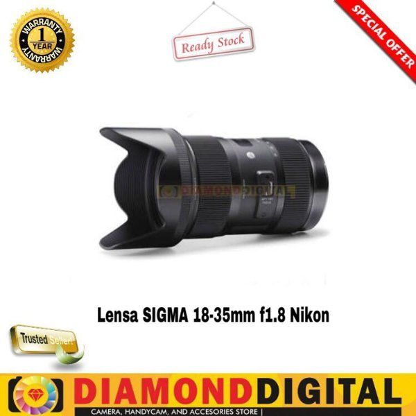 SIGMA 18-35mm F1.8 DC HSM Art For NIKON CANON