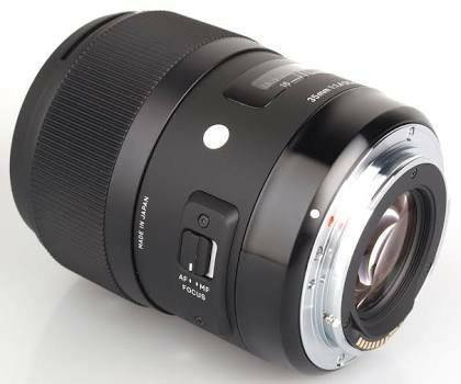 SIGMA 35 MM F1 4 DG HSM A FOR CANON