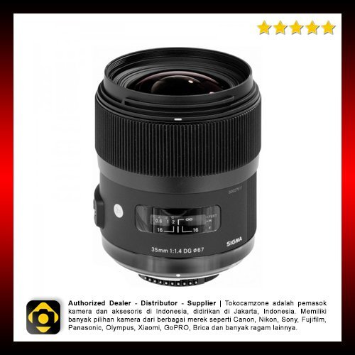 Terbaru Sigma For Canon 35mm f14 DG HSM ART
